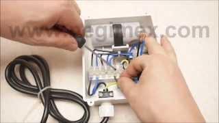 Negimex - câblage d'un moteur de pompe immergée (boitier Tracer, Stelanox ou Franklin générique)