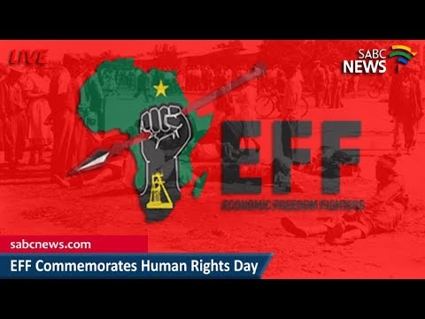 EFF observes Human Rights Day, 21 March 2018
