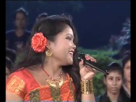 Madhuri Gogoi performed Very Famous Song Tawling Porta Oi Tiwa Bihu folk PrandinTimeTVChannel 2015