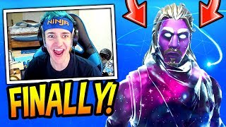 NINJA REVEALS HIS *NEW* GALAXY SKIN! *LEGENDARY* Fortnite FUNNY & SAVAGE Moments