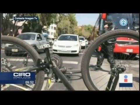 Autobús que atropelló a ciclista fue el mismo que causó la muerte de una mujer en 2019