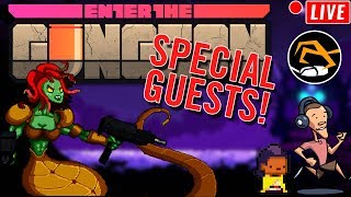 ENTER THE GUNGEON - Special Guests, For Charity! | Birdalert [PC] (CHILL, CHAT!)