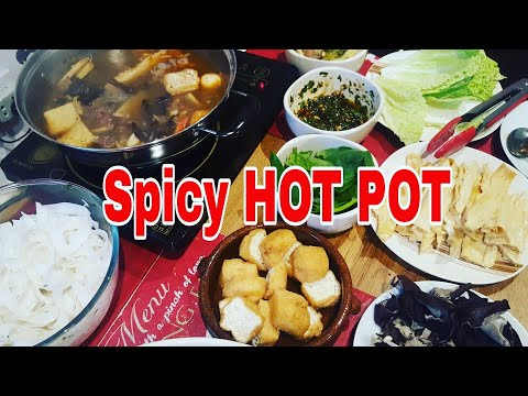 Hot Pot Or Shabu-Shabu Recipe| Pinoy Style