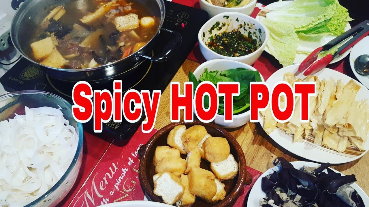 hot pot or shabushabu recipe pinoy style  youtube