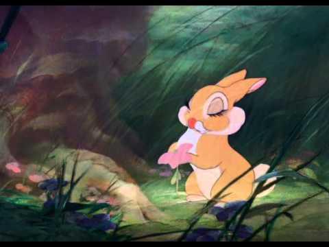 Bambi, Stampe och Blomma Blir Kvittifierade