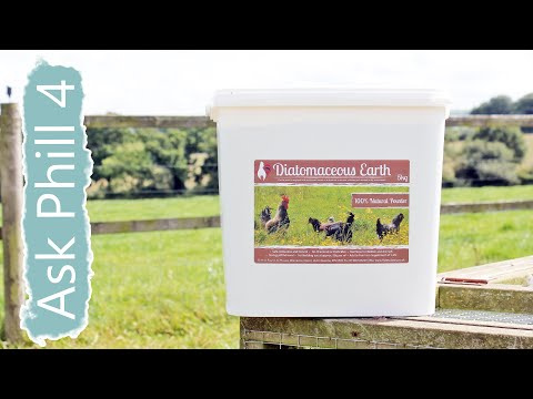 Ask Phill - 4 Using Diatomaceous Earth to control pests