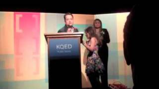 KQED honors MEDA's Luis Granados as a Local Hero at their annual Latino Heritage Month Celebration
