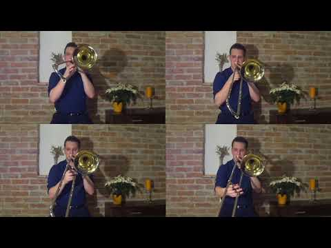 A. Dvorak From The New World - 2. Largo - Trombone Quartet