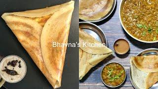 A step-by-step Tutorial of Making Dosa Menu Chauta Bazaar Surat se Video Recipe | Bhavna's Kitchen