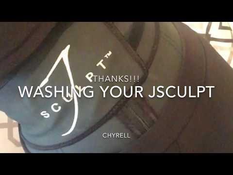 How to wash your JSCULPT belt