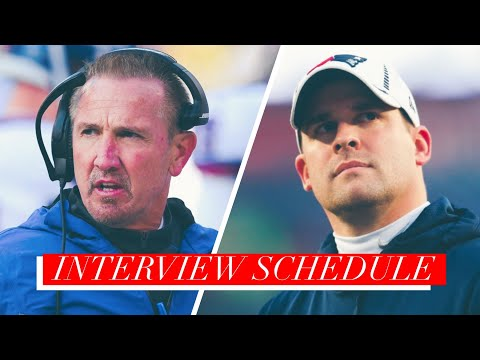 New York Giants Coaching Search Interview Schedule | New York Giants Coaching Candidates.
