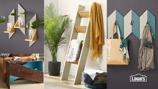 Make a Decorative Ladder for Blankets