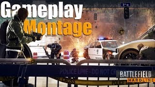 Max Settings PC Gameplay Montage - BATTLEFIELD HARDLINE -