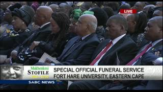 Sipho Pityana pays tribute to Rev. Stofile