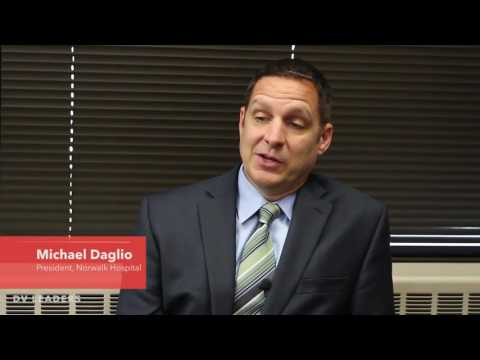 Norwalk Hospital President Michael Daglio discusses various initiatives to improve the number and scope of health programs offered at Norwalk Hospital in this video from the Norwalk Daily Voice Leader Series.
