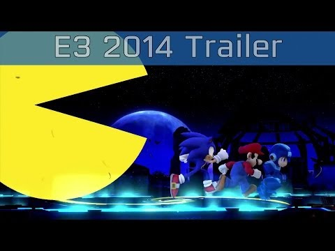 Super Smash Bros. - Pac-Man Joins The Fight E3 2014 Trailer [HD 1080P]