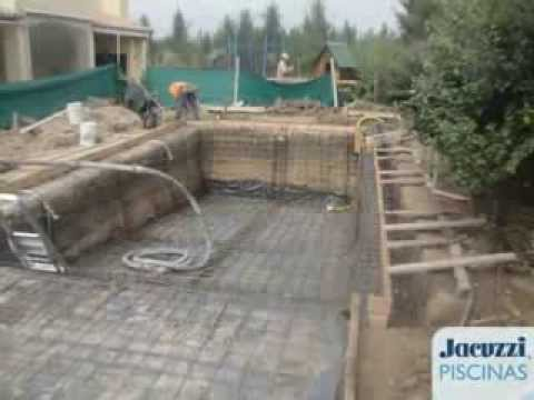 Jacuzzi argentina jacuzzi piscinas proceso de for Precio construccion piscina de obra
