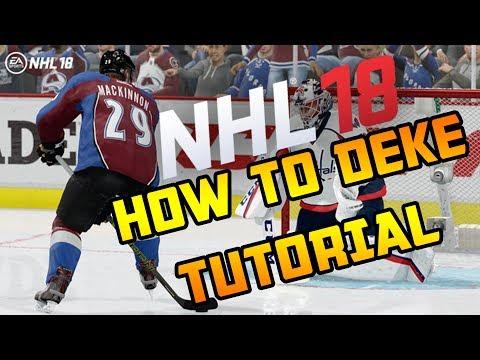 NHL 18 | HOW TO DO ALL DEKES TUTORIAL
