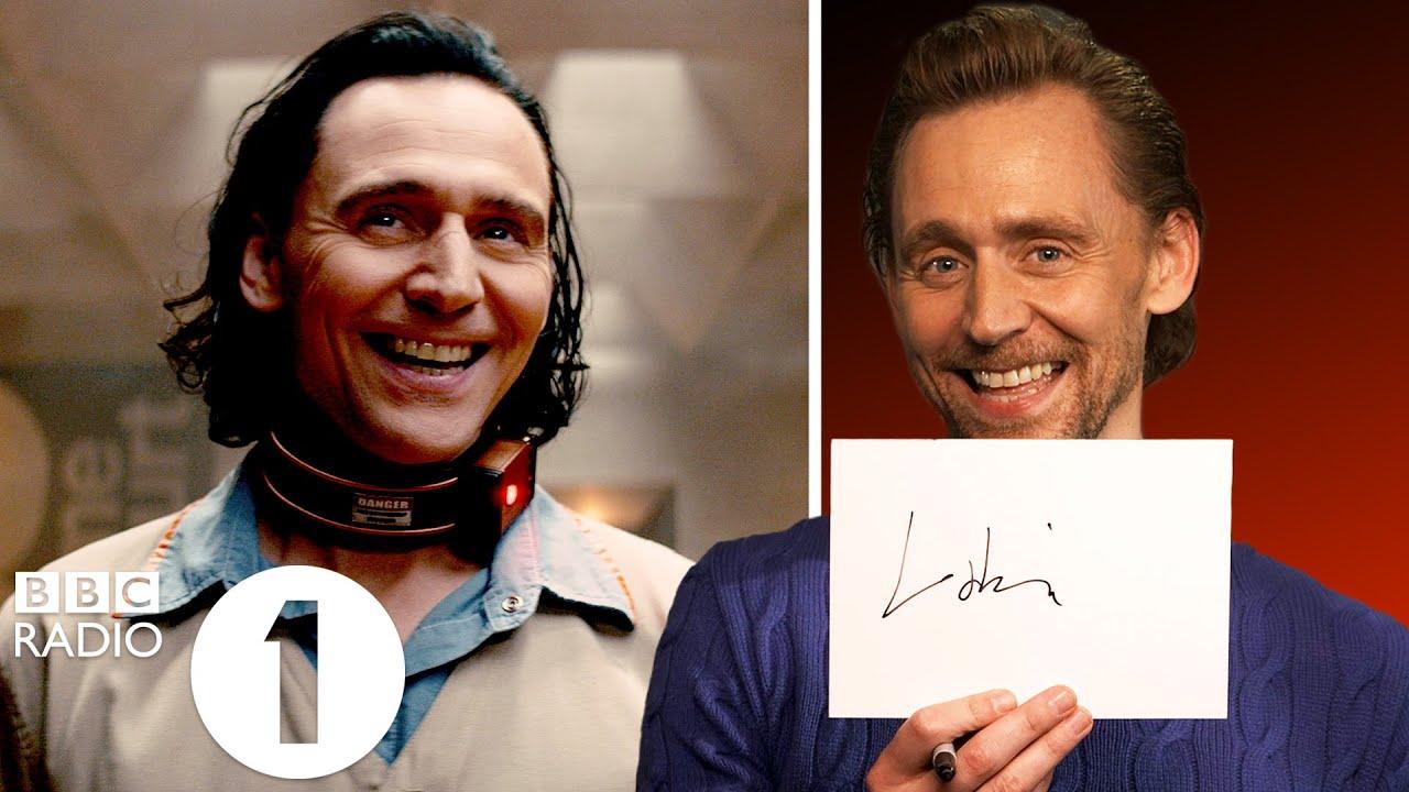 """""""Buckle up!"""" Tom Hiddleston on Loki's death, return and... signature!?"""