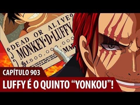 Review - One Piece 903 - A NOVA RECOMPENSA E TÍTULO DE LUFFY!