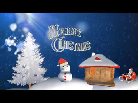 Download free, merry christmas video greetings, song, lyrics.
