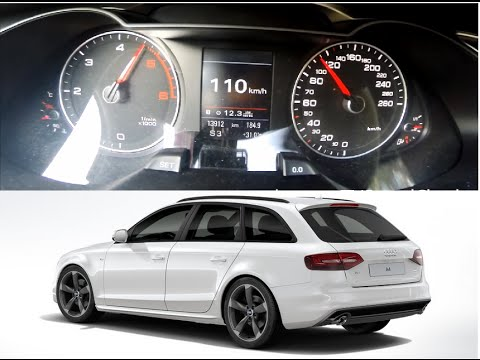 Audi A4 Avant 30 Tdi Quattro S Tronic 245 Ps 0 100 Kmh Youtube