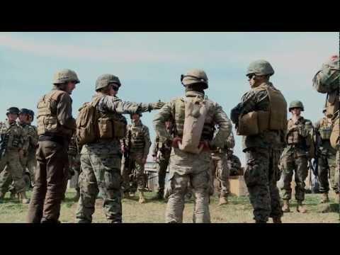 1st Lt. Richard Benning talks about Agile Spirit 13
