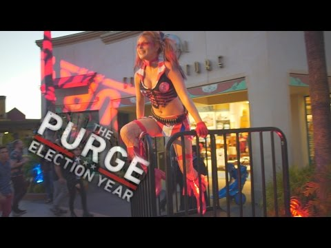 Thumbnail: Scare Zones: The Purge at Halloween Horror Nights 2016 Universal Studios Hollywood