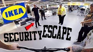 Video *SECURITY ESCAPE* RIDING A BIKE IN IKEA! download MP3, 3GP, MP4, WEBM, AVI, FLV September 2018