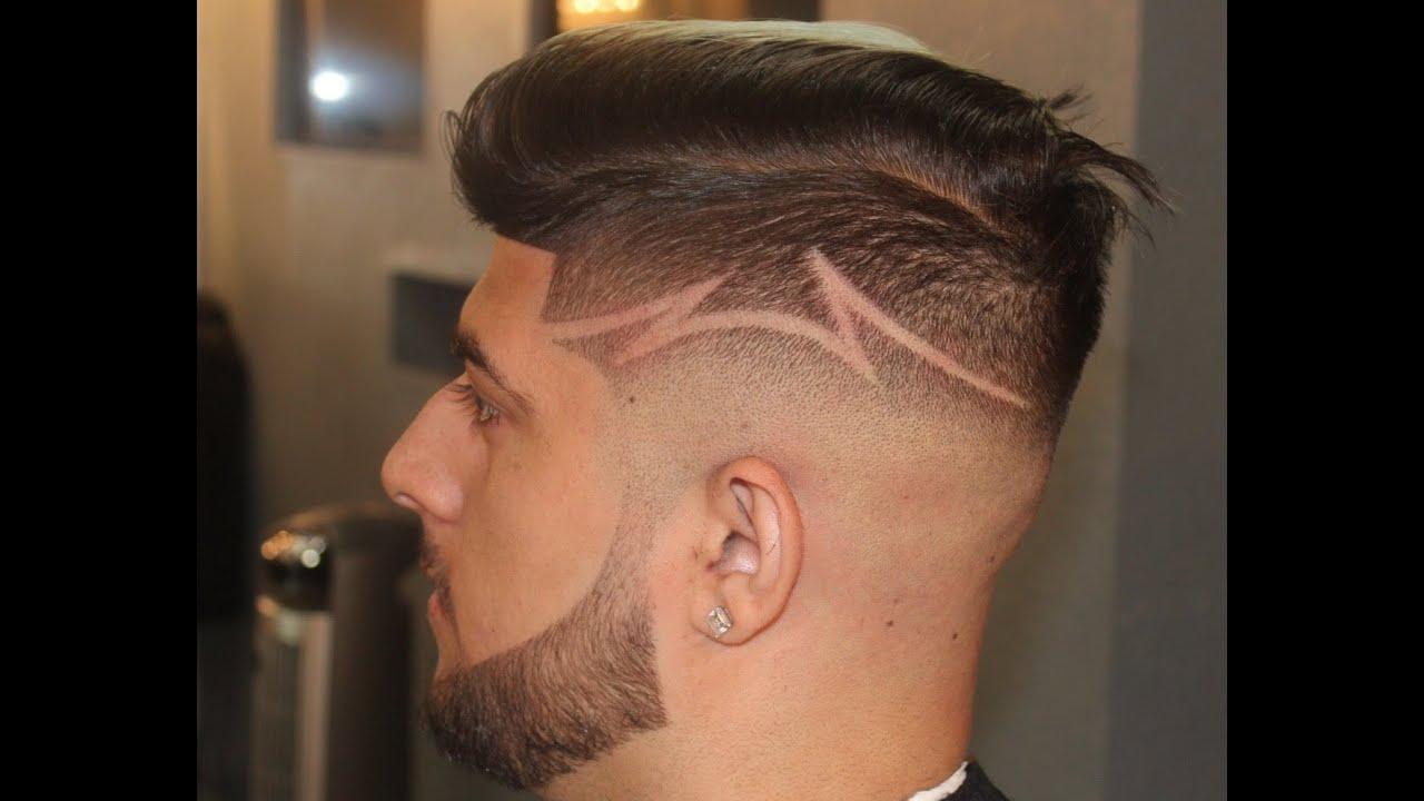 Barber tutorials undercut fade design comb over fade by zay the barber tutorials undercut fade design comb over fade by zay the barber youtube urmus Image collections
