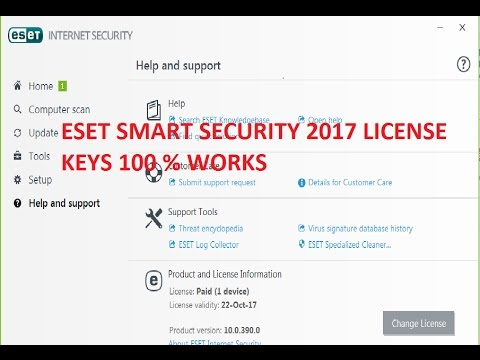 Eset Smart Security Nod32 Antivirus Paid Version License