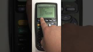 Finding the Mean aฑd Median in TI 83 Graphing Calculator