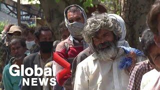 """""""I'd rather die from disease than hunger"""" India's homeless left stranded under coronavirus lockdown"""