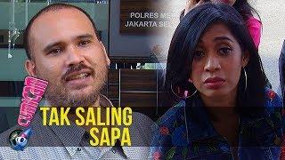 Sama-sama Datangi Polres, Arya Claproth dan Karen Pooroe Tak Saling Sapa - Cumicam 06 Desmber 2019