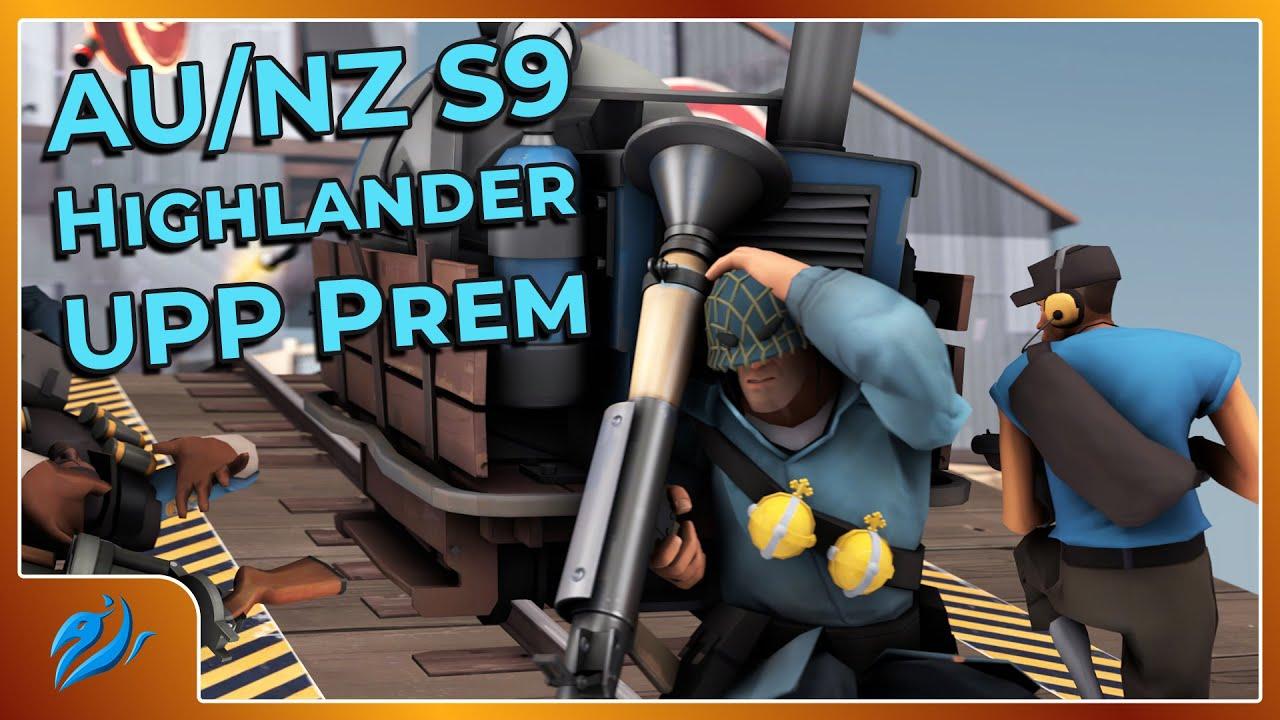 RSL AU/NZ Highlander S9 Premier UPP: pena's trinkets vs. blue pandas [TF2 esport]