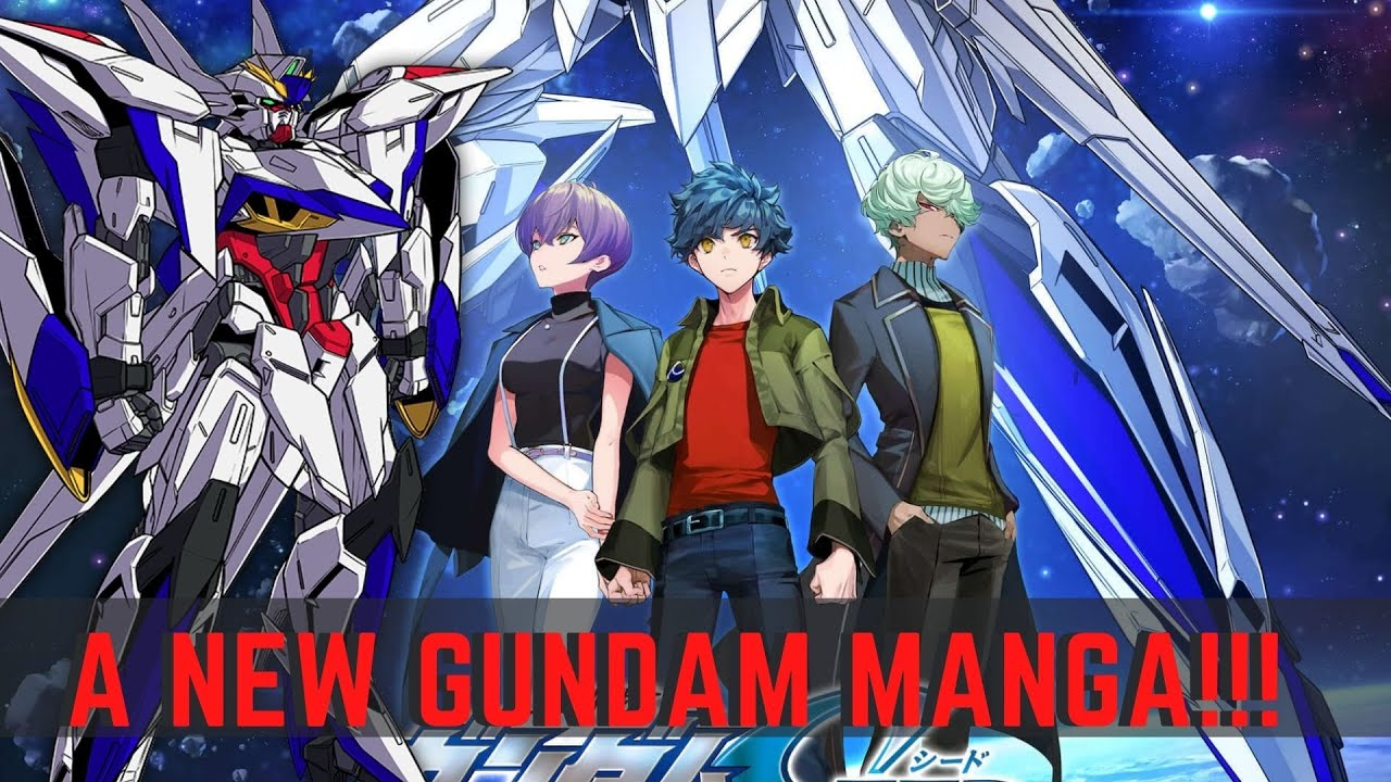 A BRAND NEW Gundam Story!?!?! - Rebirth of the Cosmic Era Mobile Suit Gundam Seed Eclipse Manga