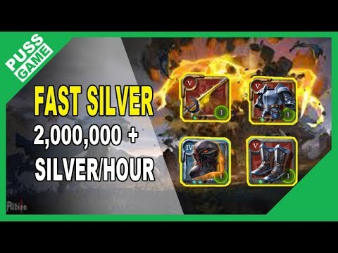 Albion online - Fast silver guide (2m silver/hour)