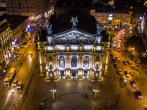 Quadcopter - Lviv Theatre of Opera and Ballet / Театр Опери та Балету