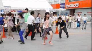 flashmob from Kashiwa-city 20140830