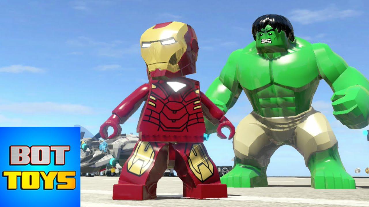 Iron Man De Los Dibujos Animados De Los Vengadores En Lego Gameplay En Español Latino