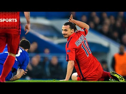 Zlatan Deserve That Red Card? | Instant Replay in Soccer/Footy