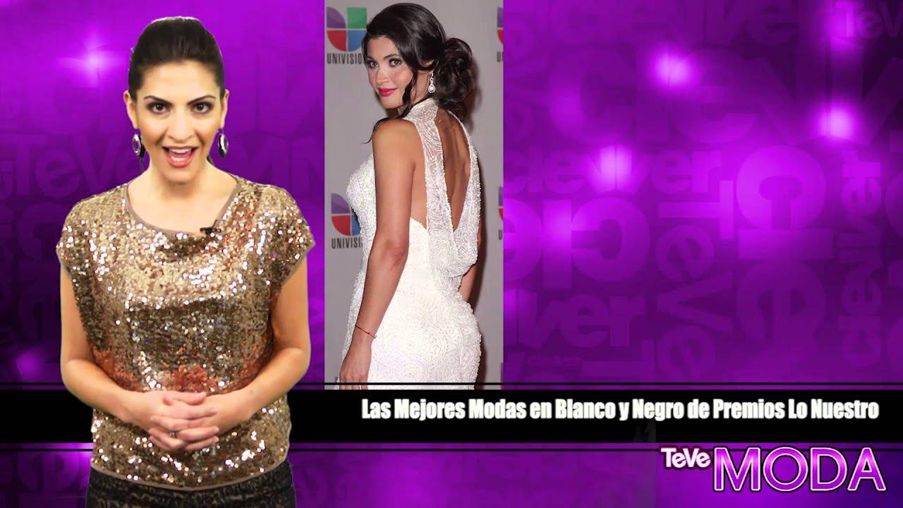 Las Mejores Modas en Blanco y Negro de Premios Lo Nuestro - YouTube
