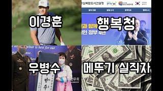이경훈, 행복청, 우병수, 메뚜기 실직자_2021년 5월 셋째 주 시사 상식 이슈 키워드