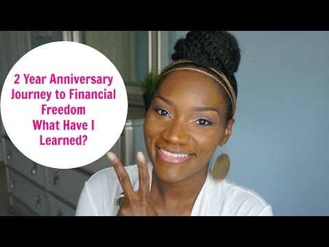 2 Year Anniversary | Journey to Financial Freedom | What Lessons Have I Learned? | FrugalChicLife