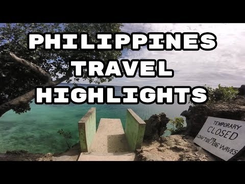 Philippines Travel Highlights for 2018 [HD] GoPro Adventure Cebu, Siquijor, Batangas