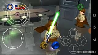 Прохождение игры  LEGO STAR WARS  на телефоне!