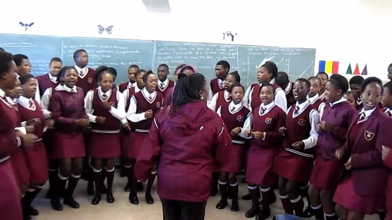 Middle school choir whose Rise Up performance went viral