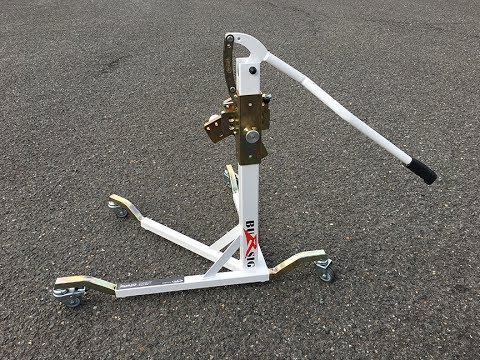 Bursig Center Lift Motorcycle Stand Review Moto Mouth