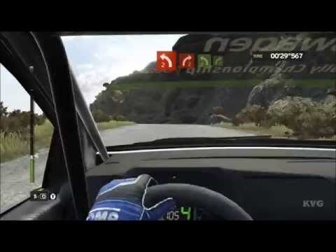 WRC 5 FIA World Rally Championship - Cockpit View Gameplay (PC HD) [1080p60FPS]