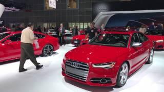 Audi A5 Sportback 2017 // Лос Анджелес 2016 // АвтоВести Online